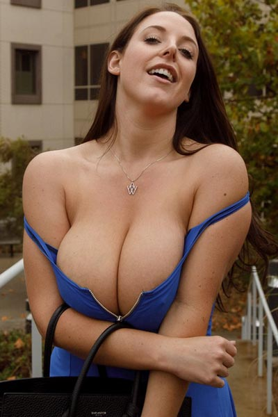 Model Angela White in No More Cars