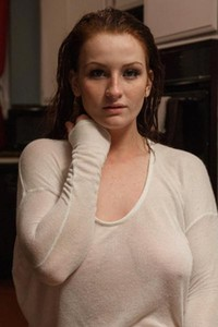 Model Emmy Sinclair in American Missile