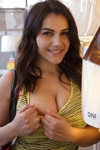 Model Valentina Nappi in The Lighthearted